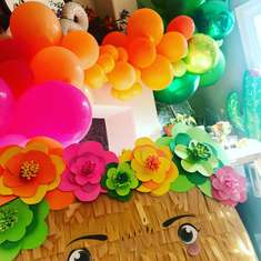 Frida Kahlo painting theme party - A MEXICAN COLORFUL INSPIRED BIRTHDAY FOR ARTIST PERLA