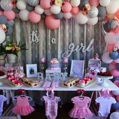 Kimberley's Baby Shower - Buttons and Bows