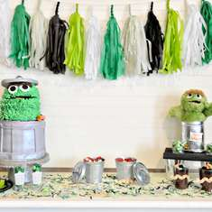 Oscar the Grouch Party - Sesame Street
