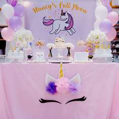Unicorn Theme birthday party - Unicorn Theme