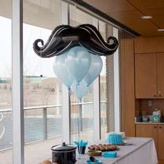 Little Man Party Baby Shower - Mustaches / Little Man