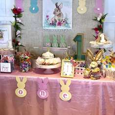 Some Bunny is One - Mia's First Birthday Party