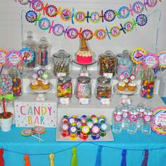 Candy Sweet Shoppe - Rainbow Candy Sweets