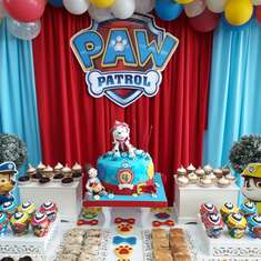 Joaquins Paw Patrol 4th Birthday