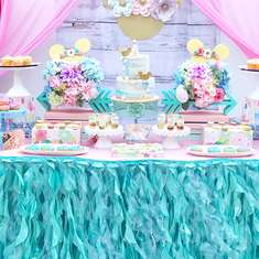 Boho Minnie birthday party - Boho Minnie