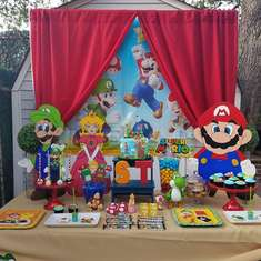 Steven's Super Mario birthday party - Super Mario Bros