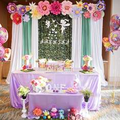 Arshika's Fairy first birthday birthday party  - Fairy Butterfly theme