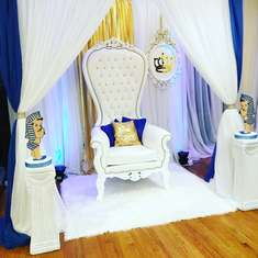 Little Pharaoh Baby Shower - Egyptian
