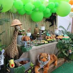 Safari Birthday Party - Welcome to the Jungle