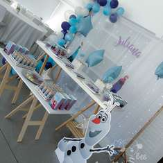 Juliana´s Frozen Party - Frozen (Disney)
