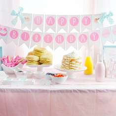 A Pretty Preppy Pancakes and Pajamas Birthday Party - Pancakes and Pajamas