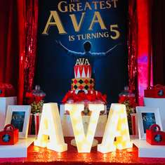 The Greatest Ava - The Greatest Showman Party