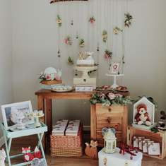 Safari boho style Baby Shower - Safari