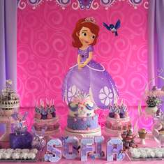 Sofia the First 1st Birthday - Sofia the First