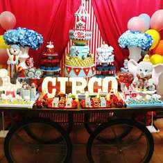Junior's Dumbo Circus 1st Birthday - Dumbo's Circus Disney