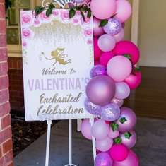 Valentina's Enchanted Celebration - Fairy Woodland