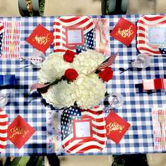 Memorial Day Party - Patriotic