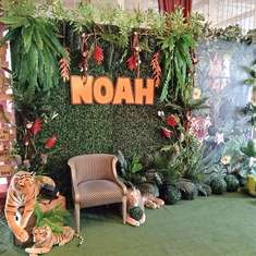Noah's Jungle Safari 1st Birthday - Jungle Safari