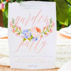 Ava & Beau's Just Because Garden Party - Spring Garden Party