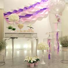 Whimsical Waves themed birthday party - Whimsical Waves themed