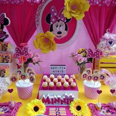 Minie fucsia y amarillo - Minnie mouse