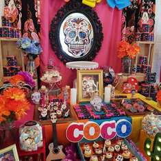 Coco birthday party - Coco