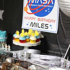 Mile's Out of This World Space Party - Space Party