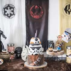 Star Wars 6th Birthday Themed Party  - Star Wars