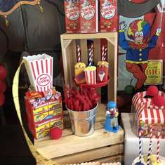 Everson's vintage circus 2nd birthday party! - Carnival Inspired