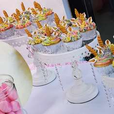 Simyra unicorn 1st birthday party - Unicorns