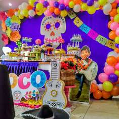 Disney Coco birthday party - COCO