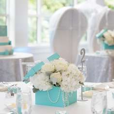 """Tiffany Theme"" Bridal Shower - None"