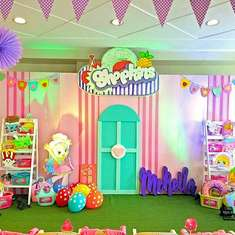 Mckeila's Shopkins Party - Shopkins