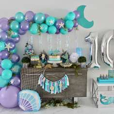 Mermaid Birthday Party - Let's Shellebrate! - Mermaid