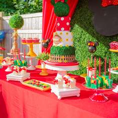 Abigail's Minnie Mouse Garden - Minnie Mouse
