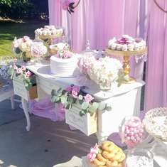 Jennifers Baby Shower - Vintage/Rustic