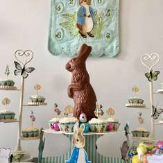 Peter Rabbit themed Easter Party - Peter Rabbit, Beatrix Potter, bunnies, Easter