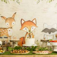 Woodland Baby Shower - Woodland