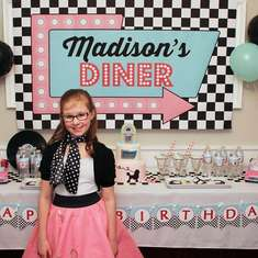 Madison's 50s Diner  - 50s Diner Party