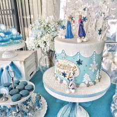 Jasmine's Frozen Party - Disney Frozen