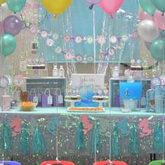 Mermaid Birthday Party - The Little Mermaid, Ariel, Under The Sea
