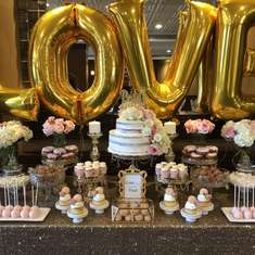 Pink and Gold Bridal Shower - Pink and Gold
