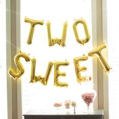 Two Sweet 2nd Birthday Party - Two Sweet