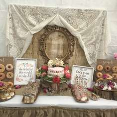 Welcoming Baby Vargas  - Rustic shower