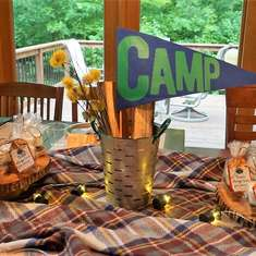 Weekend in the Woods: A Camp Themed Bachelorette - Camping / Summer Camp