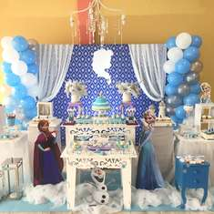 Frozen birthday party - Frozen