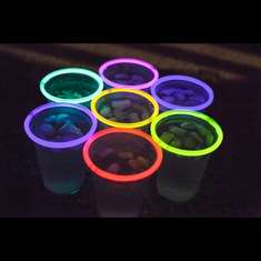 Glowing Party Cups  - Glow Birthday Party