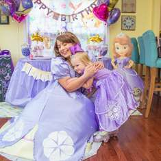 Chelsea's  3rd Sofia The First  Birthday Party  - Sofia The First