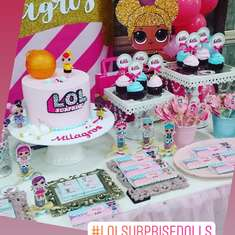 LOL Surprise birthday party - Un mundo de muñecas