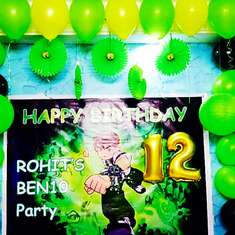 Rohith's Ben10 Party - Ben10 cartoon